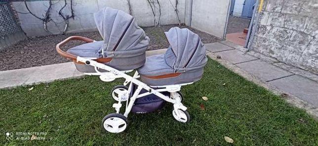 Каляска для двійні, коляска для двойни