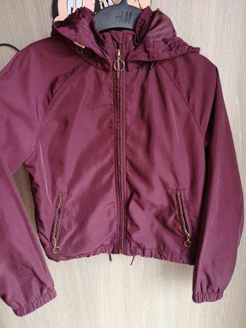 kurtka jesienna przeciw deszczowa H&M rozmiar 140 dziewczynka