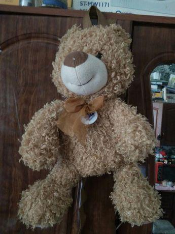 Рюкзак детский, медведь игрушка