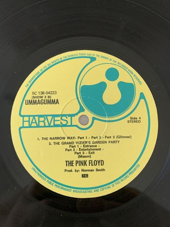 Pink Floyd ummagumma LP podwojny płyta winylowa