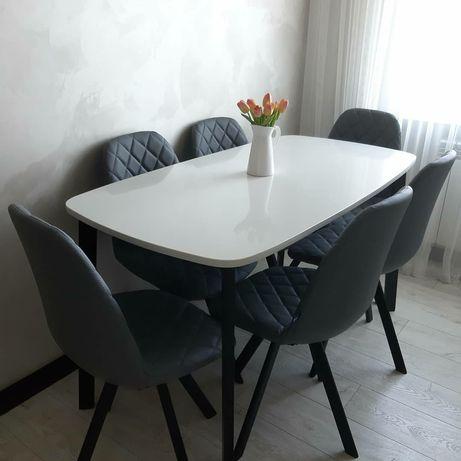 Акция!Столы вечные из кварцевого агломерата, обеденный,кухонный.Лофт.