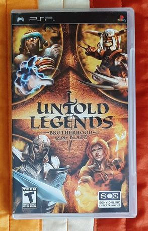 Untold Legends: Brotherhood of the Blade Sony PSP