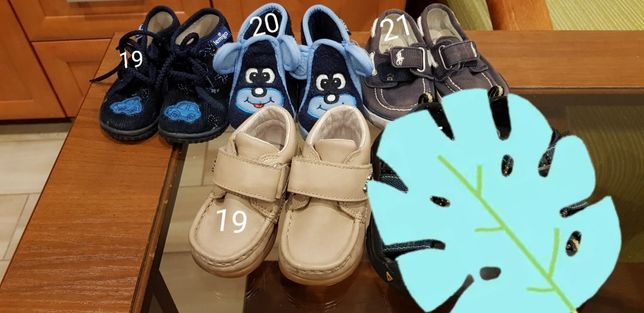 Buciki dla chłopca r.19-21 (wysyłka 12zł)