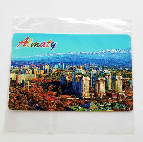 ALMATY magnes NOWY magnesy z całego świata KAZACHSTAN nowy folia