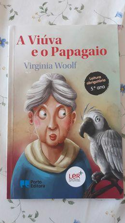 A Viúva e o Papagaio -Livro