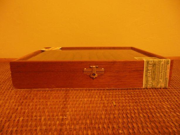 kolekcjonerskie pudełko na 25 cygar habanos