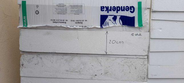 Styropian eps 200 dach,podloga,parking gr.20cm-okazja!!!