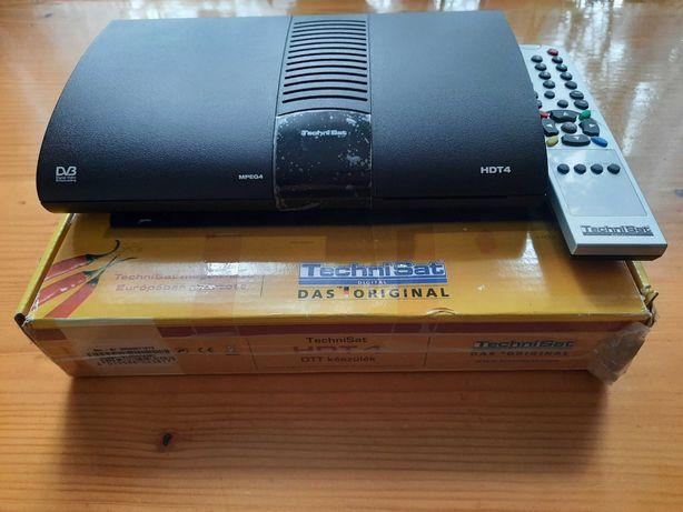 Technisat tuner hdmi dekoder dvb t nowy+kabel