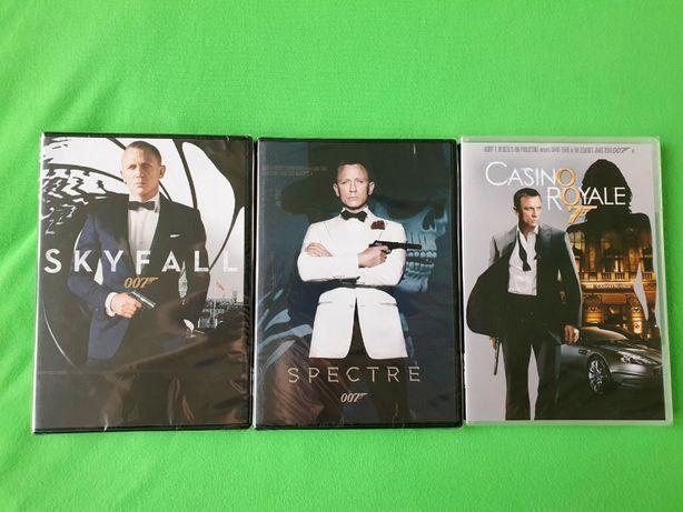 OKAZJA! Bond 007 - Daniel Craig - Kolekcja [3DVD Nowe Folia]