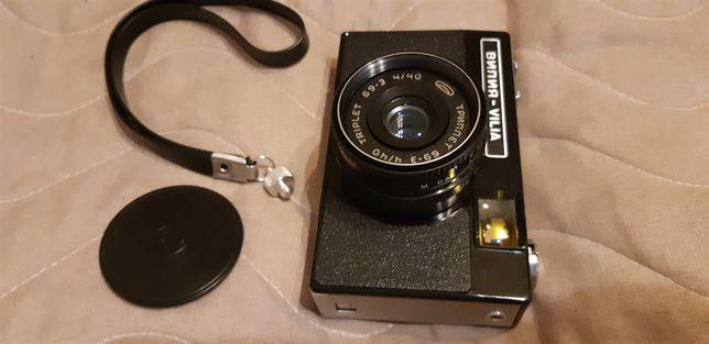 Фотоаппарат Вилия 1990года