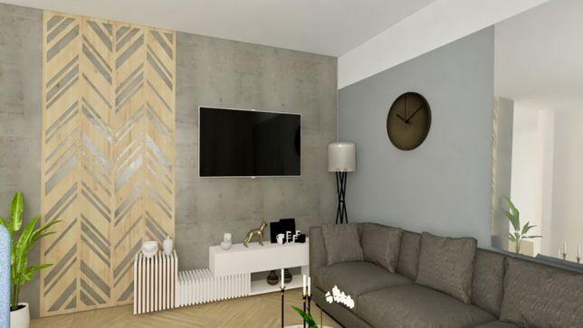Pruszcz 2 lub 3 pokoje, słoneczne mieszkanie w CENTRUM