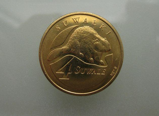 Monety zastępcze - dukat 4 Suwale