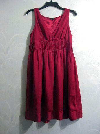 Платье миди by Ellos миди бордовое красное вечернее нарядное L