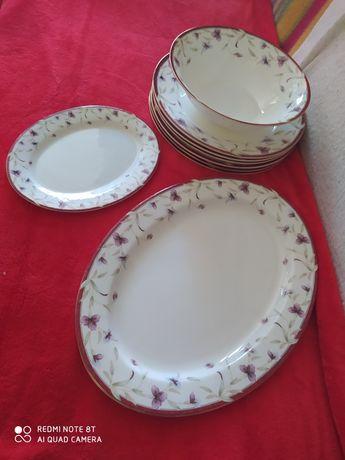 Zestaw obiadowy porcelana angielska