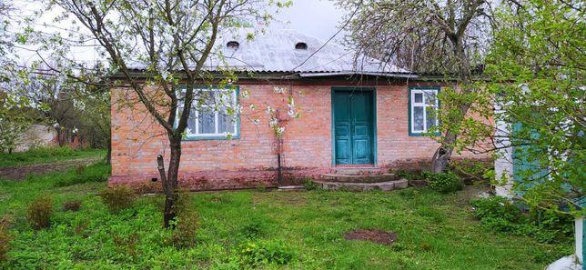 Продам дом в с.Валки (Прилуцкий район). Есть школа.