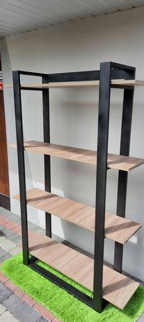 Regał LOFT, industrial, stalowy, meble loft
