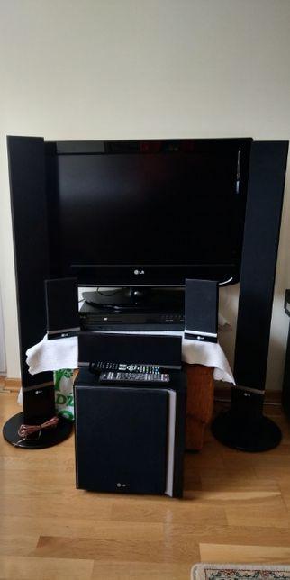 Zestaw LG DVD kino domowe 5.1 + TV