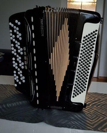 Akordeon Guzikowy Accordiana A by Excelsior harmonia