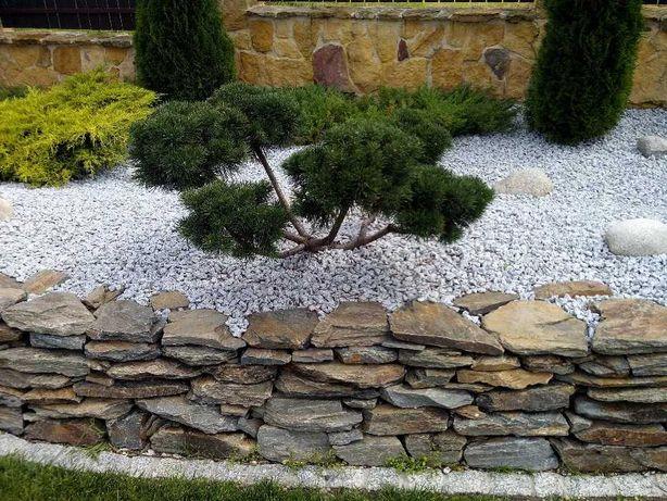 Grys granitowy, ogrodowy 16-22mm, dalmatyńczyk. Kamień dekoracyjny