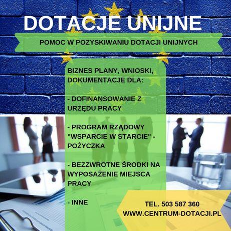 Dotacje Biznesplany: PUP, UE, POWER, JEREMIE, LGD, urząd pracy POLSKA