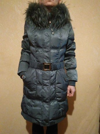 Женский пуховик Пуховое пальто Куртка женская размер S
