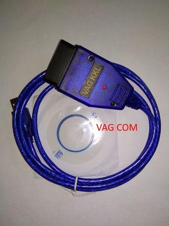 Адаптер USB VAG-COM 409.1 с диском ПО в подарок.
