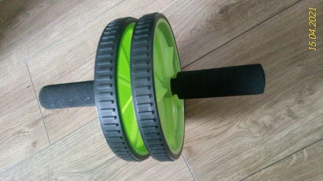 Podwójne Koło Kółko Wałek Roller Do Ćwiczeń