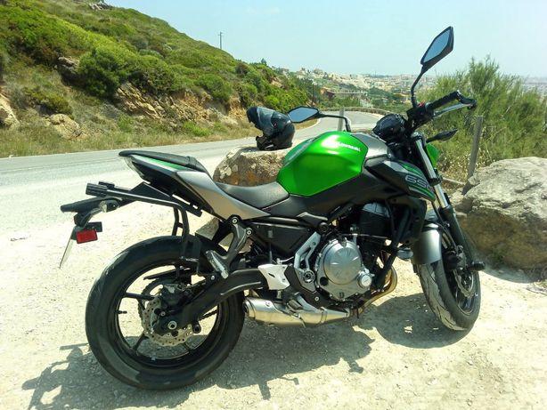 Suportes Kawasaki Z650 para Malas SHAD Sistema 3P
