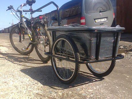 Продам велоприцеп грузоподъемностью 100 кг