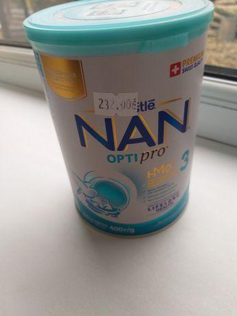 Суміш смесь Nestle Nan opti pro 3