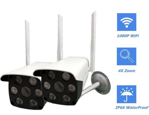 Kamera WIFI Zewnętrzna Full HD Monitoring Online SD+mocowanie V380