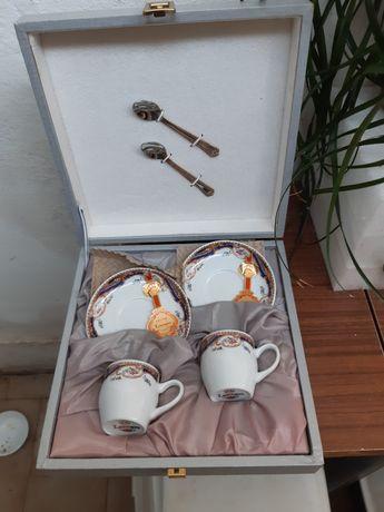 Chavenas de café Limoges