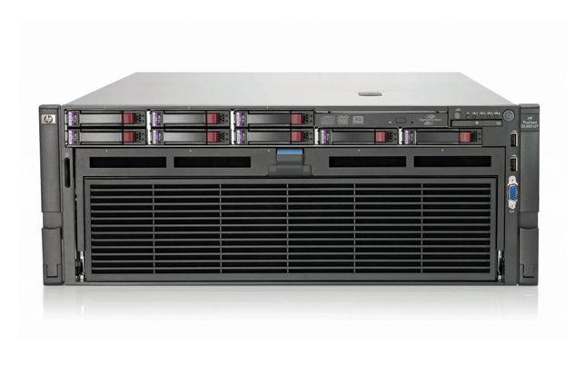 Serwer poleasingowy HP DL580 g7 40 rdzeni 1TB RAM rendering Poznań
