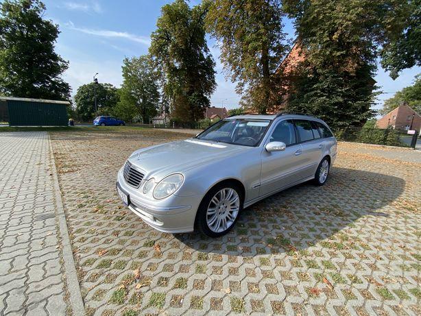 Mercedes e-klasa w211 e320cdi ZADBANY bogata opcja 7G do srody 29.09