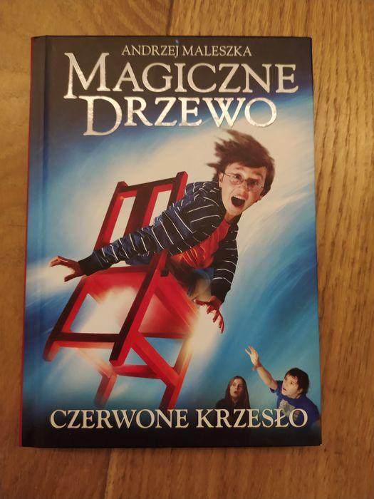Magiczne drzewo czerwone krzesło - Andrzej Maleszka Warszawa - image 1