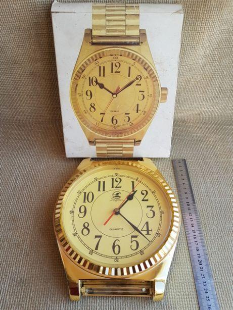 Часы с браслетом, кварц. В рабочем состоянии