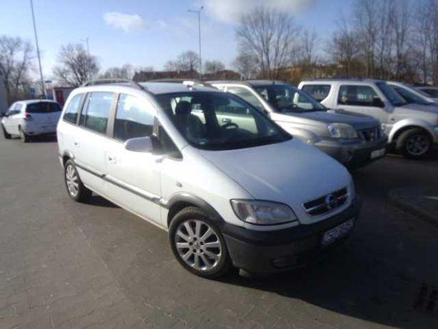 Opel Zafira AUTOMAT zamiana na dostawczy