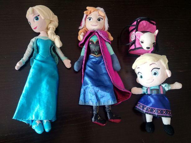 Zestaw lalek Elsa i Anna 40cm Chi Chi Kraina Lodu