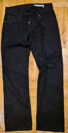 Spodnie jeansy męskie Big Star Dylan 900 W30 L32 prosta nogawka czarne