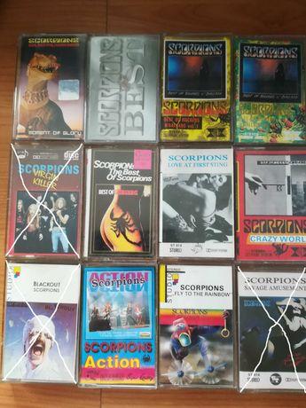 kasety magnetofonowe Scorpions zestaw lub na sztuki