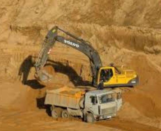 Песок ,щебень, отсев,цемент,бой бетона