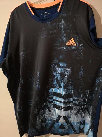Koszulka bluzka krótki rękaw adidas męska xl