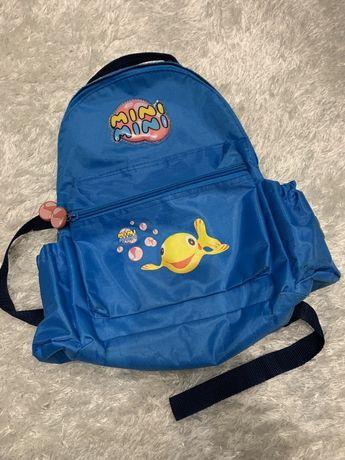 Oryginalny plecak przedszkolny Rybka MINI MINI okazja