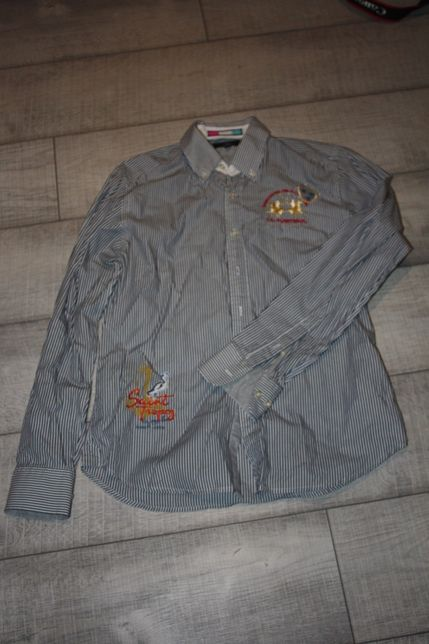 La Martina, piękna koszula w paseczki, jeździectwo, polo