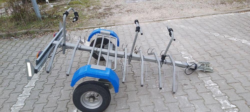 Przyczepka na rowery interpack  w bardzo dobrym stanie Warszawa - image 1