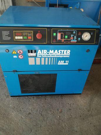 kompresor srubowy 11kw 1200l/min 13bar Wysyłka