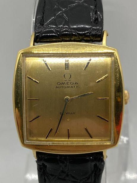 Złoty zegarek OMEGA De Ville próba 750. Automat.