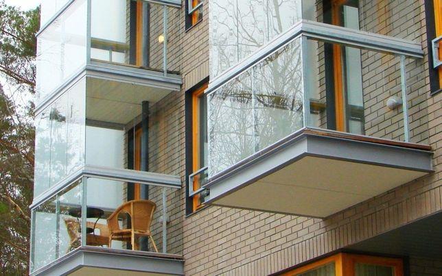 Балконы под ключ, лоджии, окна, двери.
