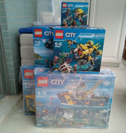 "Super Lote Lego City ""Deep Sea Explorers"""