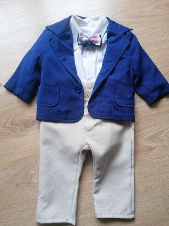 Ubranko do chrztu dla chłopca, letni garnitur do chrztu